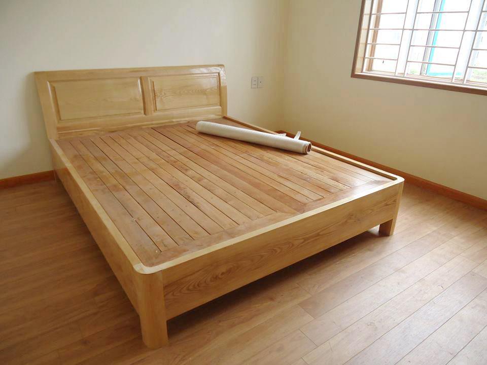 Tìm hiểu giường ngủ từ gỗ sồi