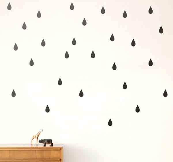 Dùng giấy dán tường