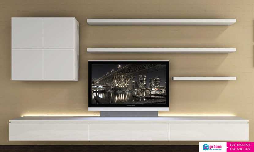 Floating-Shelves-with-TV