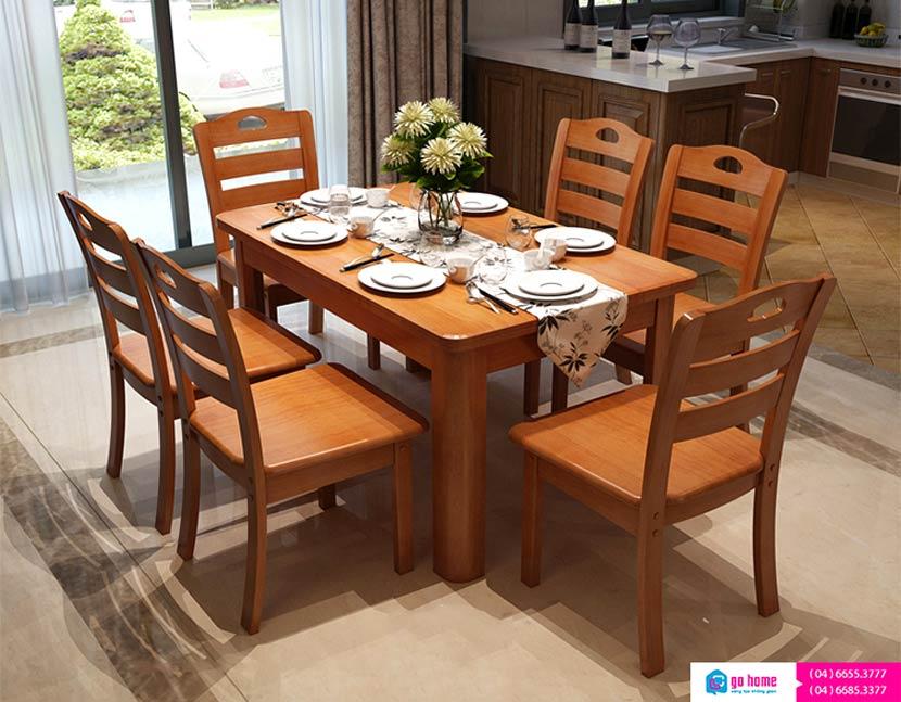 Các thiết kế bàn ăn đẹp phòng bếp