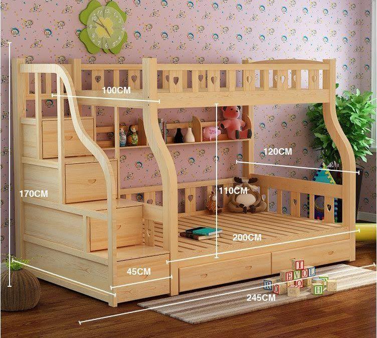 Giường tầng trẻ em được ưa chuộng