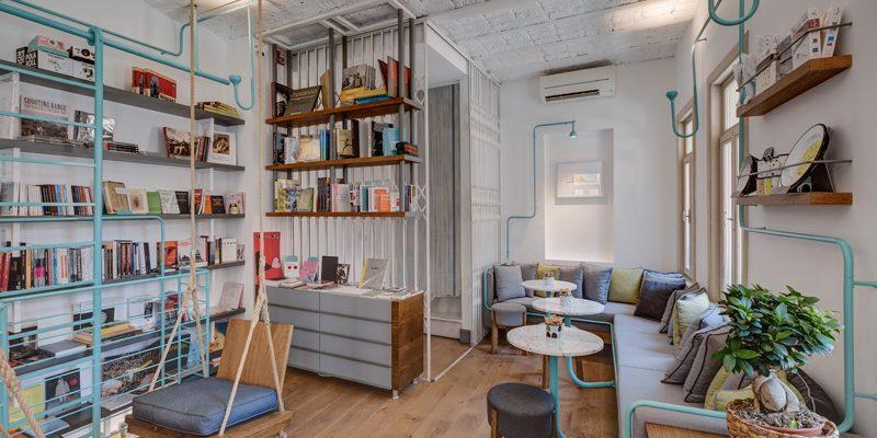 thiết kế quán cà phê hiện đại