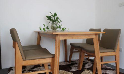 Go Home - ưu đãi giảm giá lên đến 41% bộ bàn ăn edit natural GHC-4113