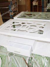 Bàn Sofa Gỗ cắt CNC sơn GHS-456