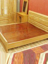 Giường ngủ Gỗ sồi tự nhiên GHS-905