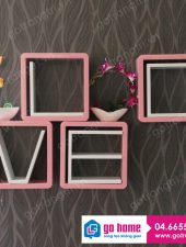 Kệ gỗ Decor Bộ chữ Love GH-09