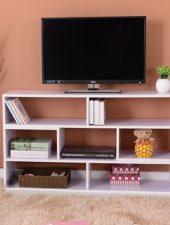 Tủ để tivi nhỏ gọn kết hợp giá sách GHS-293