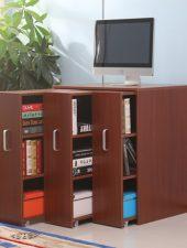 Tủ gỗ công nghiệp để sách di động GHS-505