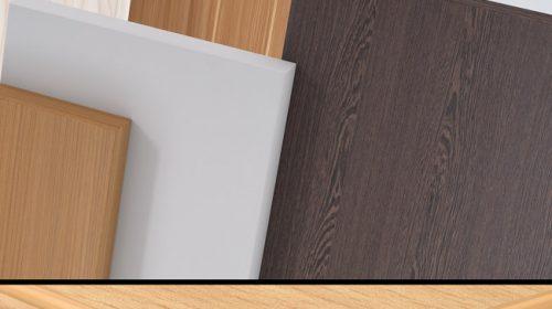 Vật liệu gỗ MFC công nghiệp loại thường.