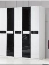 Tủ gỗ để quần áo 5 cánh siêu lớn GHS-569.