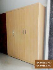 Tủ quần áo lớn 3 khoang Gỗ công nghiệp GHS-564.