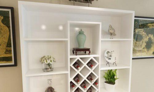 Các mẫu tủ rượu đẹp cho phòng khách - xu hướng thiết kế mới
