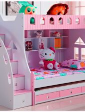 Giường cho Bé gái 2 tầng GHS-911
