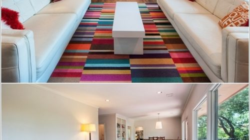 Phòng khách  đẹp xinh mang màu sắc mùa thu.