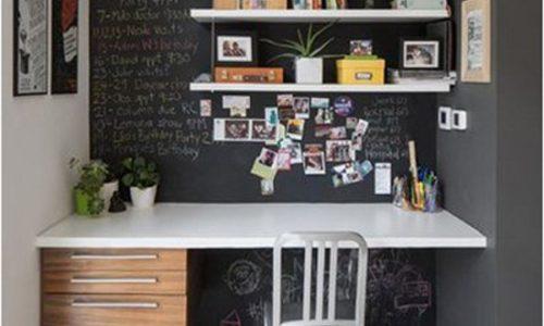 10 cách tích kiệm không gian góc làm việc.