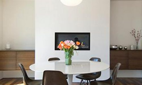 15 ý tưởng phòng ăn với bàn tròn màu trắng.