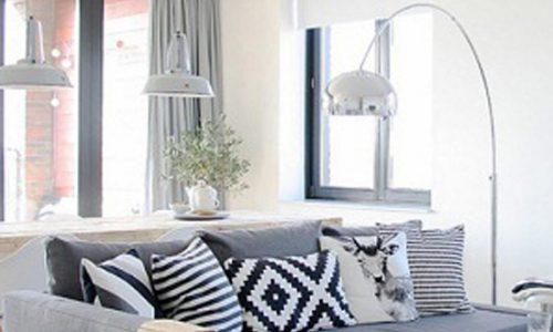 Sofa góc, cho phòng khách thêm thoải mái.