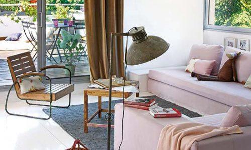 Thiết kế căn hộ rộng thoáng đẹp lôi cuốn với màu pastel.