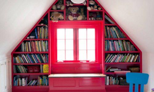 Tìm góc để giá sách hợp lý trong nhà