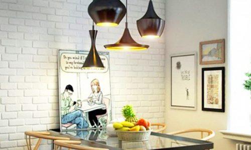 Thiết kế phòng ăn cho không gian nhỏ.