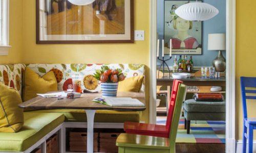 Làm thế nào để thiết kế phòng ăn nhỏ trong bếp