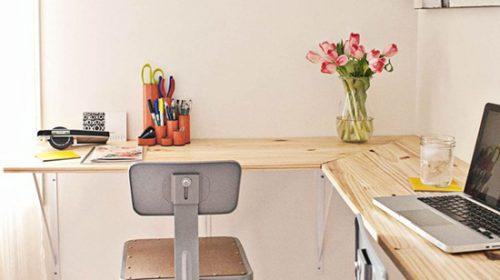 Làm thế nào để tích kiệm không gian làm việc tại nhà.