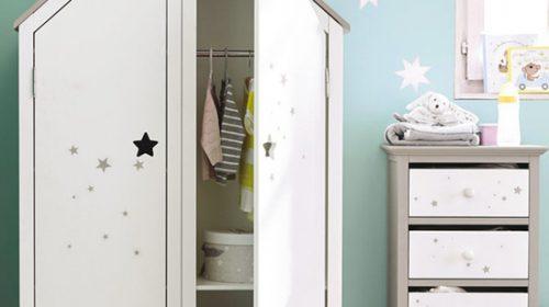 Mẹo hay chọn tủ đồ ưng ý cho phòng bé.
