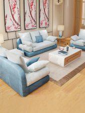 Sofa vải, Sofa Nỉ phong cách Bắc âu GHS-851