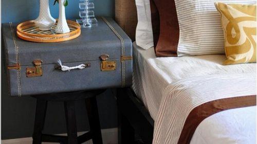 Thiết kế nơi lưu trữ đồ cho góc nhỏ đầu giường.