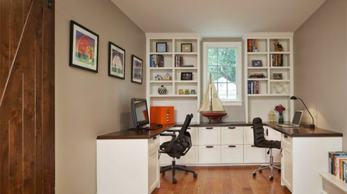 Nội thất phòng làm việc đẹp tại nhà.