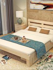 Giường ngủ Gỗ thông tự nhiên GHS-969