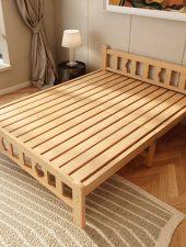 Giường gấp, Giường Gỗ tự nhiên GHS-930