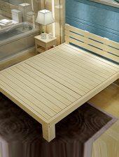Giường gỗ hiện đại, Giường Gỗ thông GHS-932