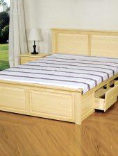 Giường Gỗ sồi, Giường gỗ tự nhiên GHS-937