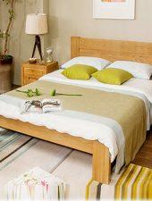 Giường ngủ Gỗ tự nhiên hiện đại GHS-961