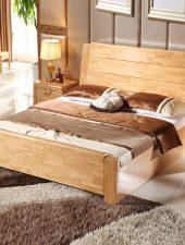 Giường ngủ Gỗ sồi tự nhiên GHS-959