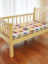 Giường gỗ tự nhiên, Giường cho Bé GHS-941
