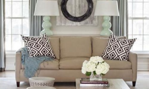 Biến phòng khách thành nơi nghỉ ngơi lý tưởng