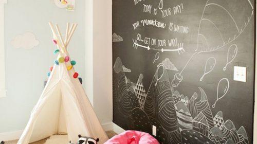 Trang trí phòng bé theo phong cách trường học