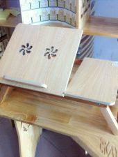 Bàn kê laptop, Bàn gỗ cao su GHS-6106