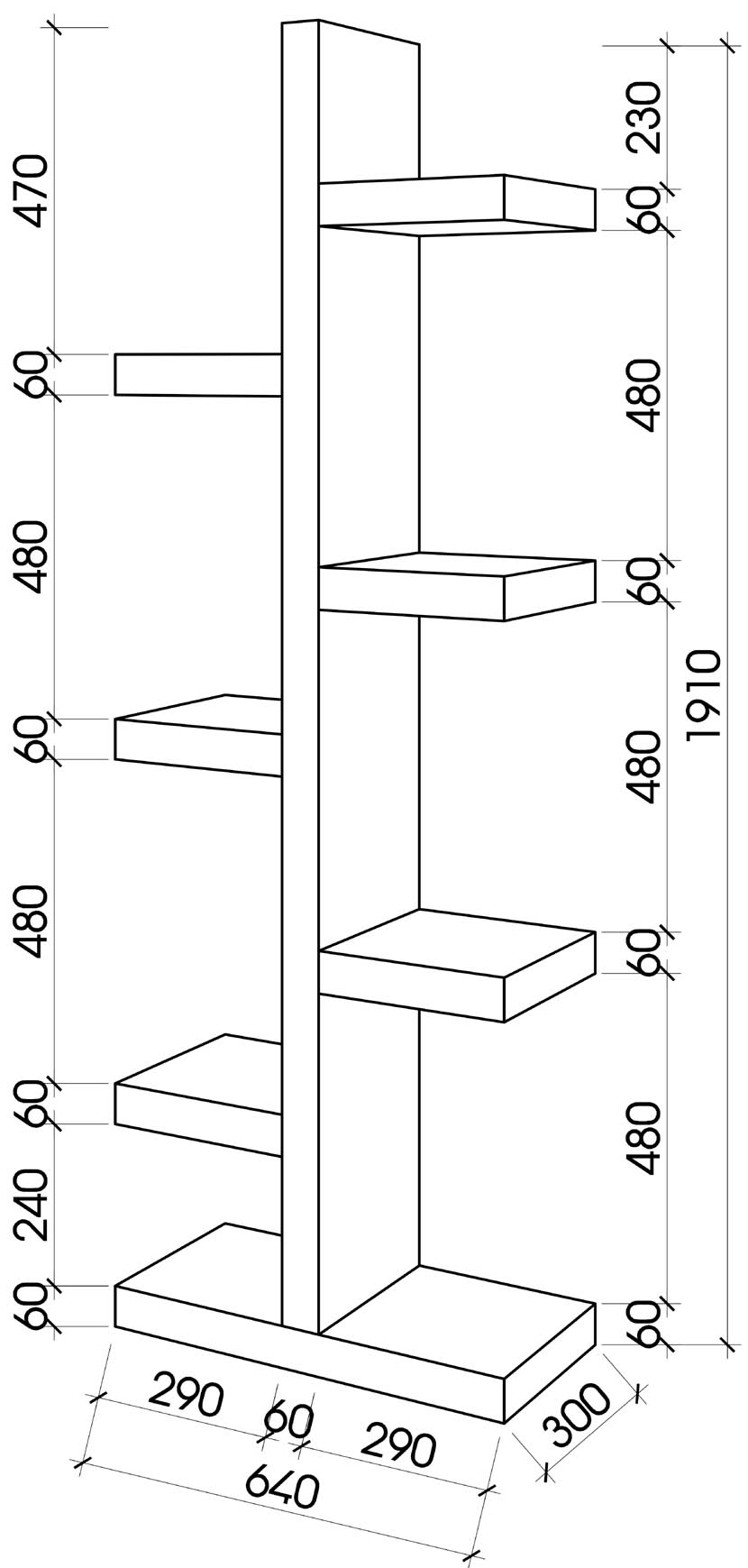 gia-sach-phong-cach-hien-dai-ghs-266(20)