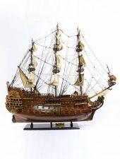Mô hình tàu thuyền chiến cổ Le Soleil Royal GHS-696