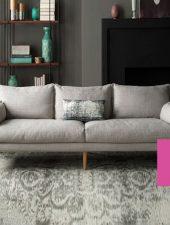 Sofa Nỉ, Sofa phong cách Scanadivia GHS-856
