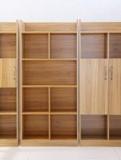 Giá sách gỗ phong cách hiện đại GHS-295