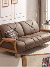 Sofa da, Sofa phong cách Bắc Âu GHS-874