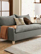 Sofa văng Nỉ, Sofa phong cách Bắc Âu GHS-897