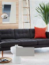 Sofa Nỉ phong cách Bắc Âu GHS-861