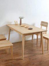 Bàn ăn gỗ tự nhiên GHS-4176