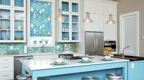 Bí kíp cho không gian phòng bếp mát mắt trong mùa hè