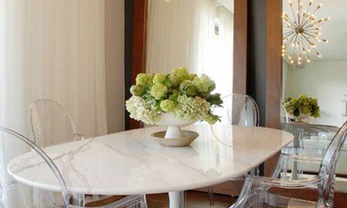 Tìm thiết kế bàn ăn phù hợp với không gian nhà mình